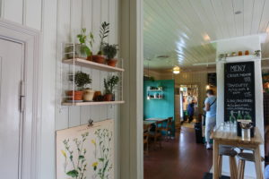 Museumskafe, Botanisk hage