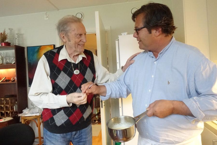 Pekka og Ivar Eriksen